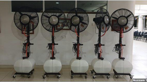 Sewa Kipas Angin Air Terbaik di Pinang 082298014775
